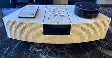New listing Bose Wave Awr1-1W Radio Am Fm Stereo Alarm White W/ Remote 3rd gen. Amazon Dot