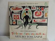 C. FRANCK Psyché et éros MOUSSORGSKY RAVEL ARTURO TOSCANINI NBC Symphony orches