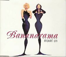 MAXI CD BANANARAMA - STOCK AITKEN WATERMAN - PWL	Movin' on 4 tracks jewel case