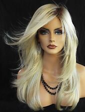 Angelica PM by Noriko Wigs (partial mono) Color CHAMPAGNE ROOTED New Cute Style