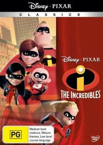 The Incredibles DVD Region 4