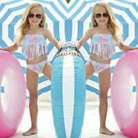 Infant Kid Baby Girl Tankini Bikini Set Swimwear Swimsuit Bathing Suit Beachwear