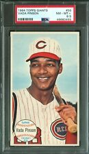 1964 Topps Giants VADA PINSON #56 Reds PSA 8.5 (NearMint-Mint Plus)