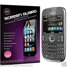 2 Pack High Quality Excellent Scratch Screen Protector for Nokia Asha 302