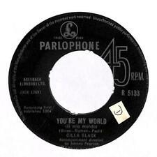 """Cilla Black - You're My World (Il Mio Mondo) - 7"""" Record Single"""