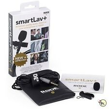 Rode smartLav+ Plus Lavalier Lapel Condenser Wearable Microphone Mic Smartphon