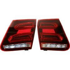 FITS MERCEDES E CLASS 2015-2016 INNER TAILLIGHTS TRUNK LID LAMPS TAIL LIGHT PAIR