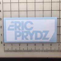 """Eric Prydz Logo 6"""" Wide White Vinyl Decal Sticker - BOGO"""
