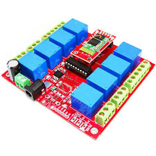 8 Channel Relay Board 12V-Bluetooth  IC ULN2803 driver TTL O/P LED indication