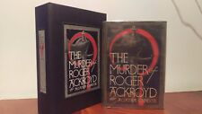Agatha Christie 1st / 1st Murder of Roger Ackroyd Rare Original DJ Custom Case