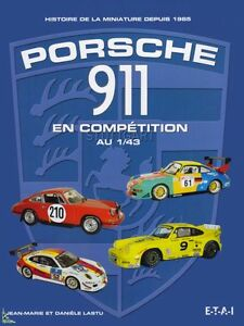 Porsche 911 in competition diecast 1/43, French book