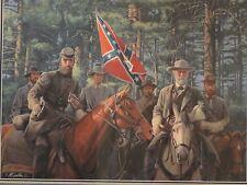 Mort Kunstler - Model Partnership- Collectible Civil War Print