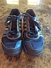 Adidas Mens Athletic Running Shoes Blue/black/silver Size 9