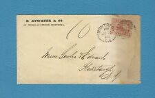 Canada, 1866 cover - 10cent rate to US - Short Pd 5c disallowed 10c collected