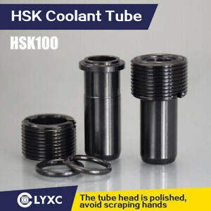 US Stock 10 pcs HSK100 Coolant Tube CNC Machine Tool Accessories