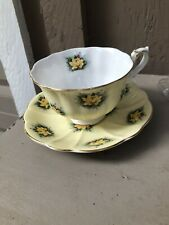 Royal Albert Teacup & Saucer Vanity Fair Series Charlotte