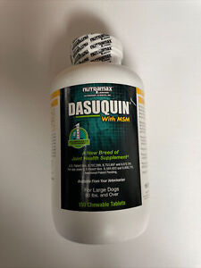 Dasuquin with MSM Joint Health Supplement  For Large Dogs 150 Chewable Tablets
