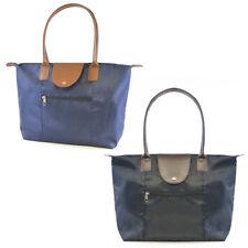 Women Girls Ladies Nylon Waterproof Beach Large Tote Shoulder Handbag Foldable