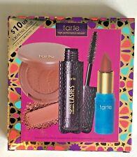 Tarte High Performance Naturals 3-Piece Kit NIB: Lipstick, Blush & Mascara