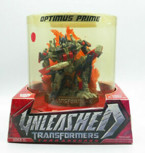 Unleashed Transformers Turnarounds Optimus Prime New Free Shipping