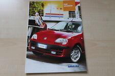 89069) Fiat Seicento Prospekt 09/2001