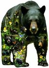 Forest Bear 1000 Pc Shaped Jigsaw Puzzle By SunsOut For Sale