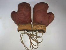 Antique Yale Boxing Gloves Set