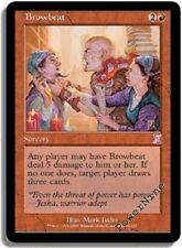 4 FOIL Browbeat - Red Timeshifted Time Spiral Mtg Magic Rare 4x x4