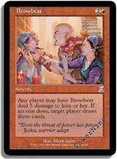 4 Folie Browbeat - Rot Timeshifted Zeit Spiral MTG Magic Selten 4x x4