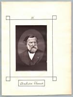 Ambroise Thomas, compositeur français  Vintage print.  Charles Louis Ambroise