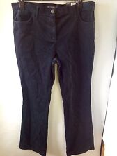 M&S Collection Bootleg Trousers Size: 16 Medium