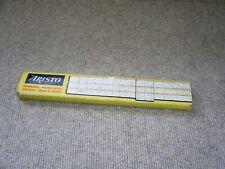 Rechenschieber ARISTO TRILOG 0908 , mit Anleitung & Etui