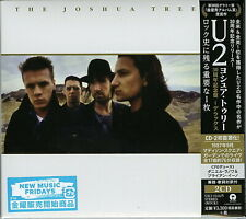 U2-THE JOSHUA TREE-JAPAN 2 CD H66