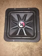 "Kicker Solo X 12"" competition subwoofer amazing condition upgraded!"