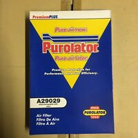 Purolator A29029 Air Filter For Ford Falcon 88-92 Ryco A431 Equivalent
