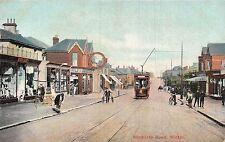 POSTCARD   DORSET  BOURNEMOUTH  Winton  Wimborne  Road
