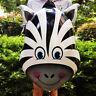 1pc tête d'Animal Foil ballons pour décor de fête anniversaire bébé douche