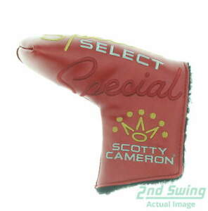 Titleist Scotty Cameron Special Select Putter Headcover Red/Gold