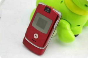 Motorola RAZR V3 Flip Mobile Phone Unlocked Camera 2G GSM Classic Cellphone