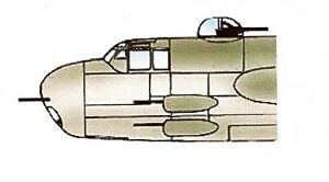 Squadron B-25 Mitchell Clear Aircraft Canopy SQ9166