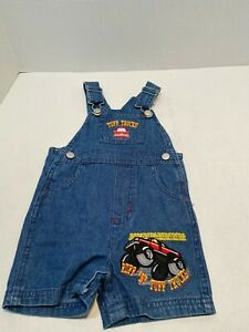 12 MONTH BOYS OVERALLS