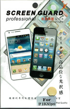 Screen Protector for Apple iPhone 3GS 3G Clear