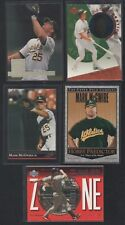 Lot of (15) MARK MCGWIRE INSERTS CARDS L28
