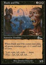 1x FOIL Rank and File Urza's Legacy MtG Magic Black Uncommon 1 x1 Card Cards