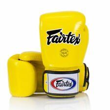 Fairtex Boxing Gloves 3-Tone Yellow BGV1 Muay Thai Sparring Kickboxing Training