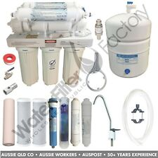7-Stage Reverse Osmosis Alkaline Water Filters RO Purifier Filter RON-7-MAN 75G