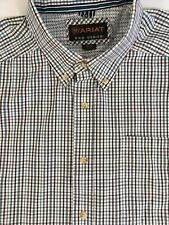 Ariat Mens Pro Series Long Sleeve Button Down Shirt Size XL Red White Gray Check