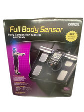 NEW Omron Healthcare HBF516B Handheld Full Body Sensor Composition Monitor Scale