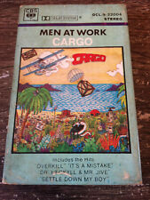 MEN AT WORK - Cargo CASSETTE TAPE / Made In PHILIPPINES