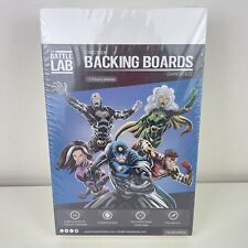 More details for battle lab 100 comic book backing boards current size 171mm x 266mm new & sealed
